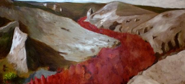 LandscapeRedRiver.61x131cm