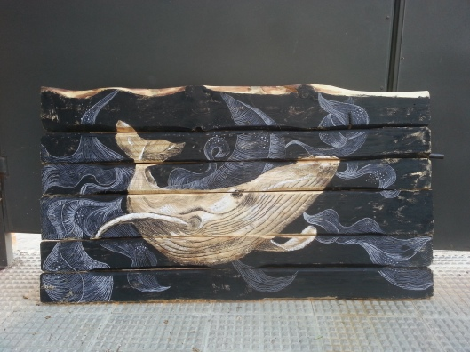 67x120cm-oleo-sepia-carboncilloypinturasobrelistonesdemadera